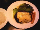 チーズハンバーグ(ライス付)800円