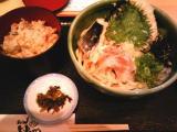 天ぶっかけ定食960円(-100円)